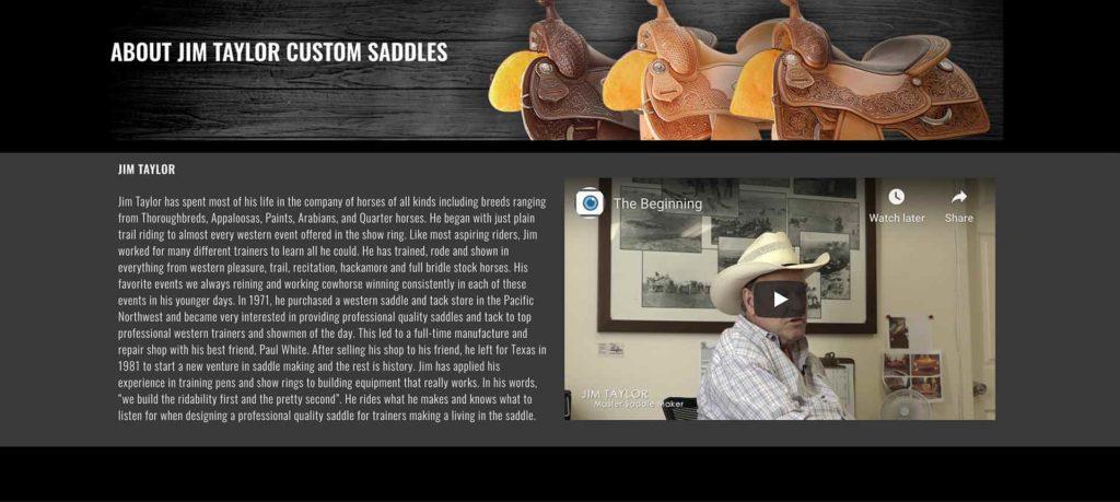 about jim taylor original web page